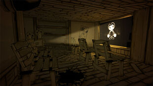 Projector Room Bendy And The Ink Machine Wiki Fandom