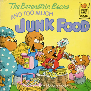 File:Berenstain bears and too much junk food cover.png