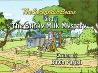 Stinky Milk Mystery