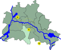 Lage Tempelhof-Schöneberg