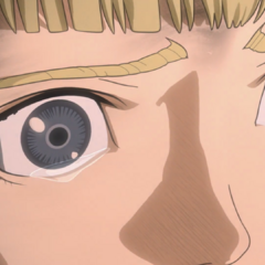 Farnese finally sees Guts as a symbol of hope rather than evil.