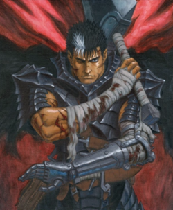 Guts Berserker Armor Manga