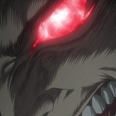 Guts becoming possessed by the <a href=