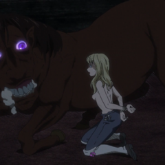 Farnese encounters a possessed horse.