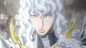Griffith arrives at Kushans