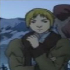 Judeau in winter clothes during <a href=