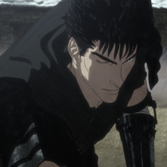 Guts drives back the <a href=