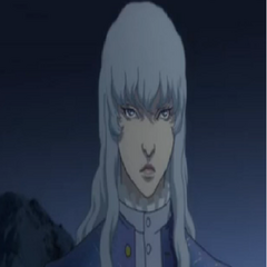 Griffith wearing winter clothes.