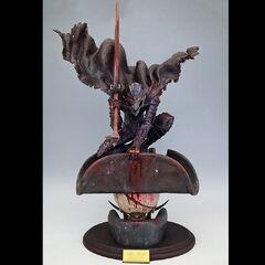 Guts in the Berserker Armor blue steel statue released by Art of War.