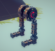 Two-limb Bipod Walker base