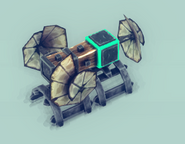 Hovercraft Steering