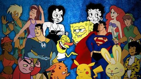 Drawn Together vs The Originals. Epic Rap Battles of Cartoons Season 3