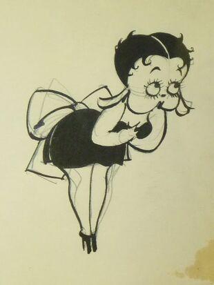 Betty Boop is a helen kane parody