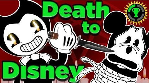 Game Theory How Bendy EXPOSES Disney's Cartoon CONSPIRACY (Bendy and the Ink Machine)