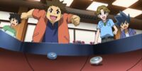 Osamu, Takashi and Akira