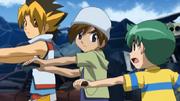 Sora trains with Kenta