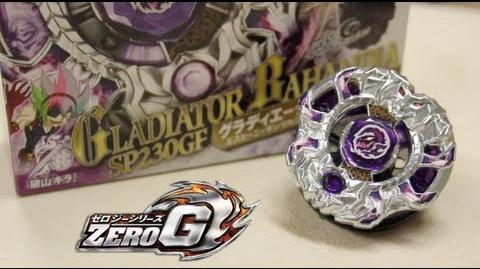 Beyblade Gladiator Bahamdia SP230GF BBG-27 - Unboxing & Review Beyblade ZeroG!!