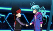 Daigo and Ukyo handshake