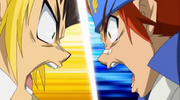Gingka vs Dashan