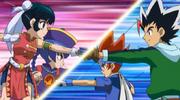 Gingka Hagane & Masamune Kadoya vs