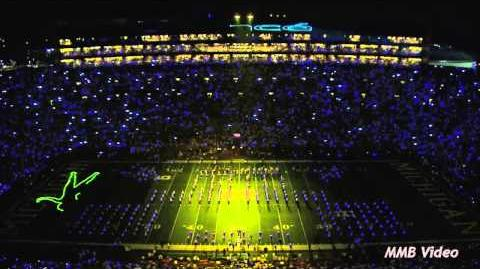 """Beyonce"" - September 7, 2013 - The Michigan Marching Band"