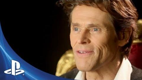 BEYOND Two Souls Willem Dafoe Behind The Scenes