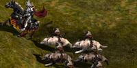 Gundabad Wolf Riders