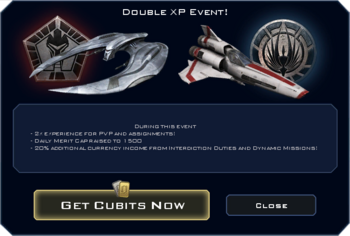 Double XP Event