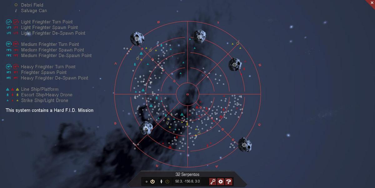 32 Serpentos 3D System Map