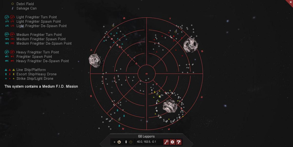 68 Lepporis 3D System Map