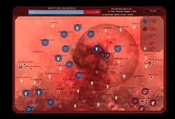 Veil Sector Map new Cylon Version