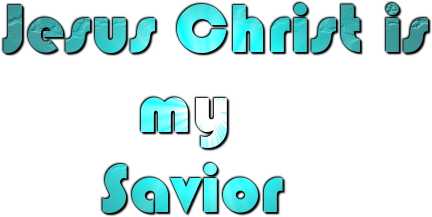 File:Jesus is my Lord and Savior.png