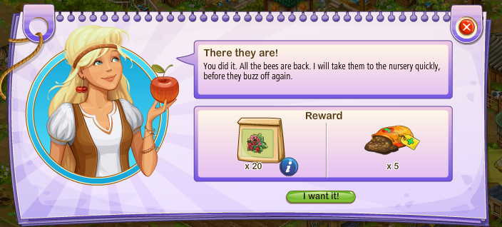 Bees Reward 1
