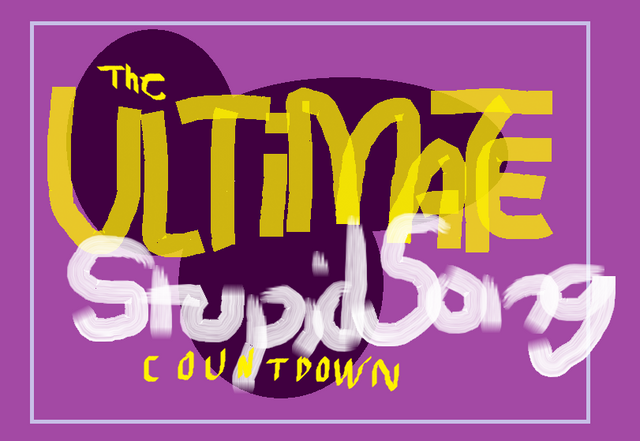 File:Ultimate Stupid Song Countdown logo.png