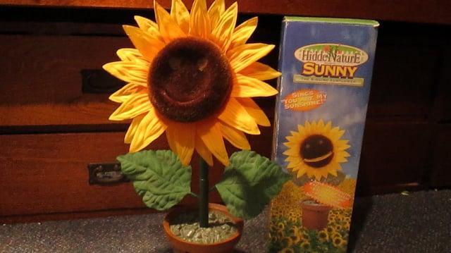 Rare Gemmy Sunny the Singing Sunflower