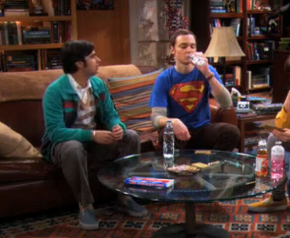 File:Sheldon drinks raj water.jpg