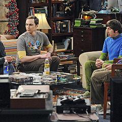 Leonard talks to the guys.