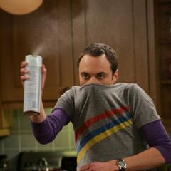 After Sheldon hears about Penny's exposure to her sick family.