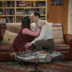 Shamy making out.