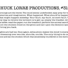 Chuck Lorre Productions, #314.