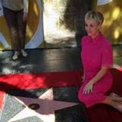 Kaley gets a star.