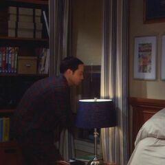 S03E13 - Sheldon escapes via the window
