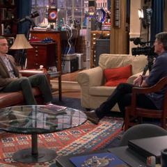Adam Nimoy interviewing Dr. Cooper.