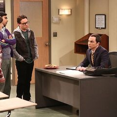 No one signed up for Sheldon's course.