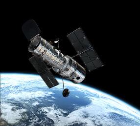 Hubble in orbit1