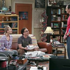 Sheldon has a wedding present that they all can enjoy.