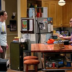Leonard is mad at Sheldon because he can't see why he picks his fiancée Penny over himself.