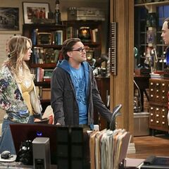 Leonard telling Sheldon about disproving his discovery.