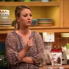 Penny breaks wine glass when she hears Sheldon's plans to get physical.