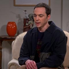Sheldon apologizing to the Wolowitzes.